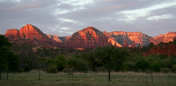 Sunset in Sedona, Arizona