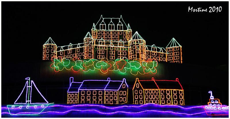 Festi-lumières: Le Château Frontenac