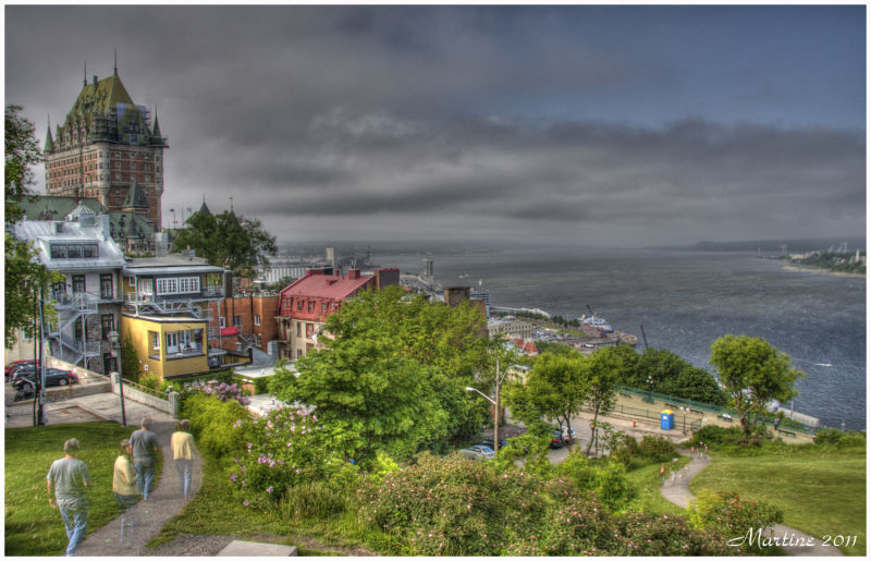 Quebec City in HDR