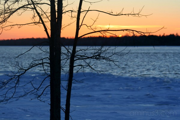 Ottawa River in Winter