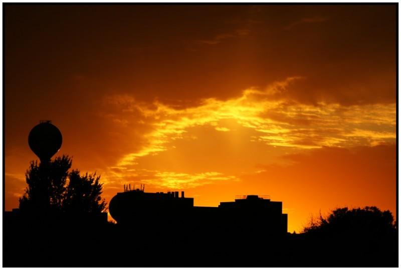 Sunset St. Paul golden