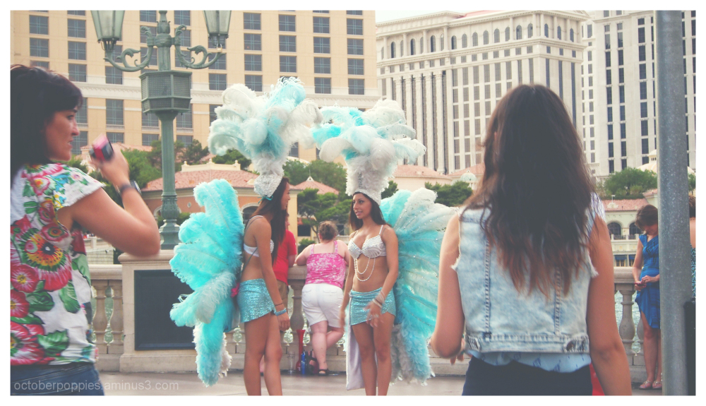 Las Vegas Strutting