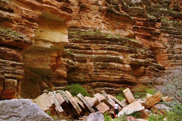 Canyon Rock Fall