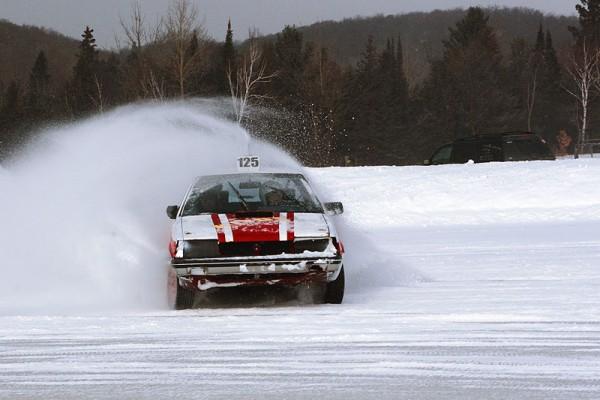Iceracer shot in Minden