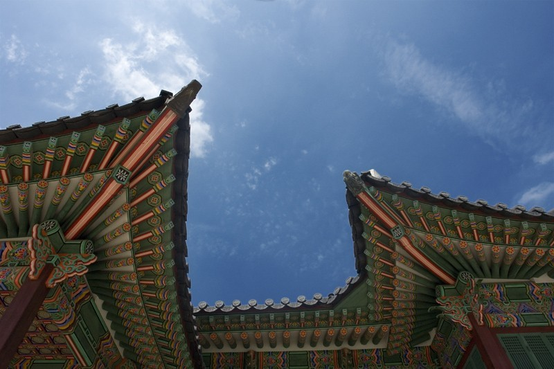 Roofs at the Secret Garden, Seoul, Korea