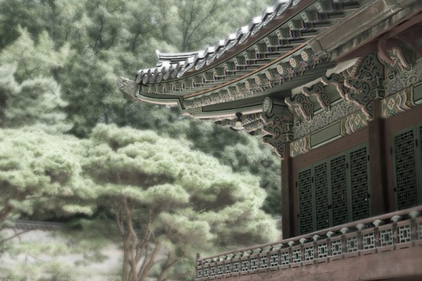 Temple, Secret Garden, Seoul, Korea