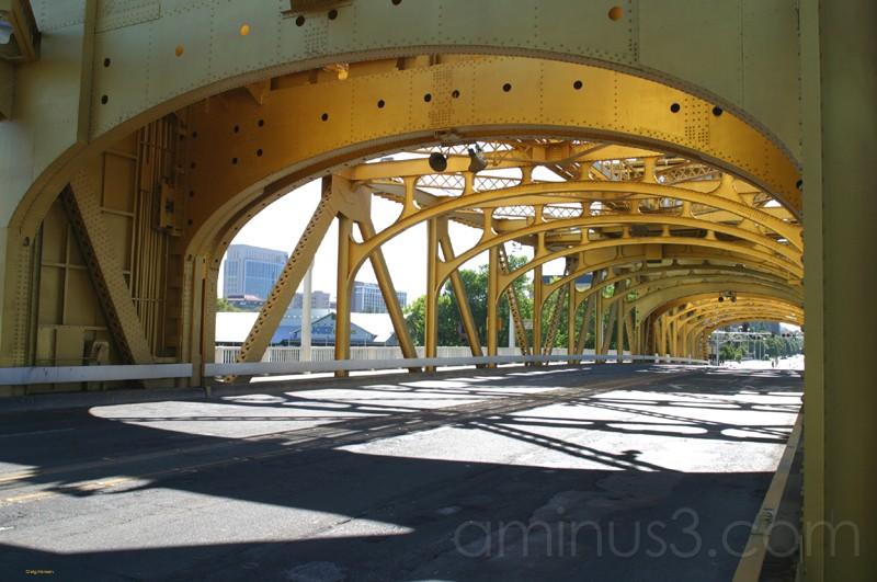 The J Street Bridge - Sacramento