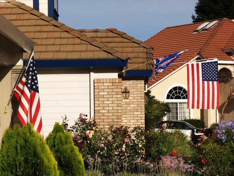 Political and social correctness in suburban Ameri