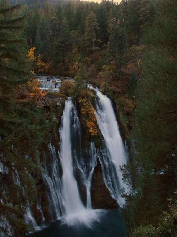 Dusk at Burney Falls