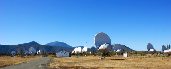 Hat Creek Search for Extra Terrestrial Intelligenc