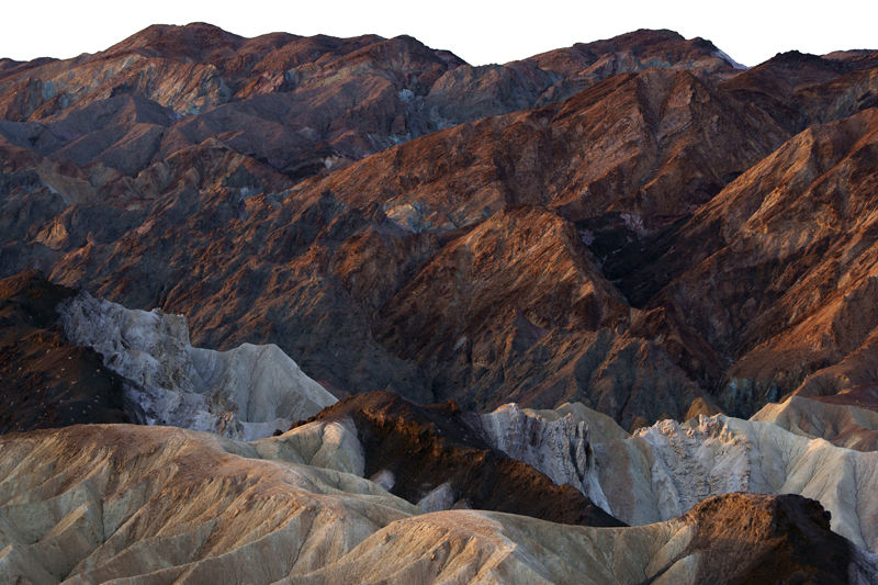 View from Zabriskie Point IV - Death Valley, CA
