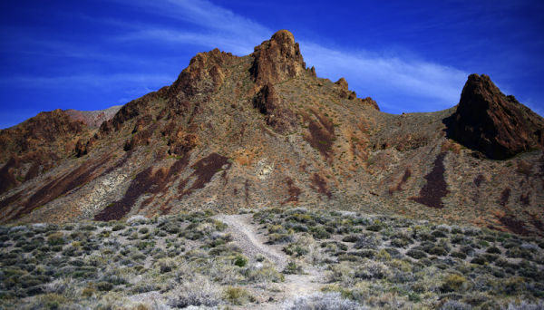 View from Titus Canyon Road - Death Valley, CA