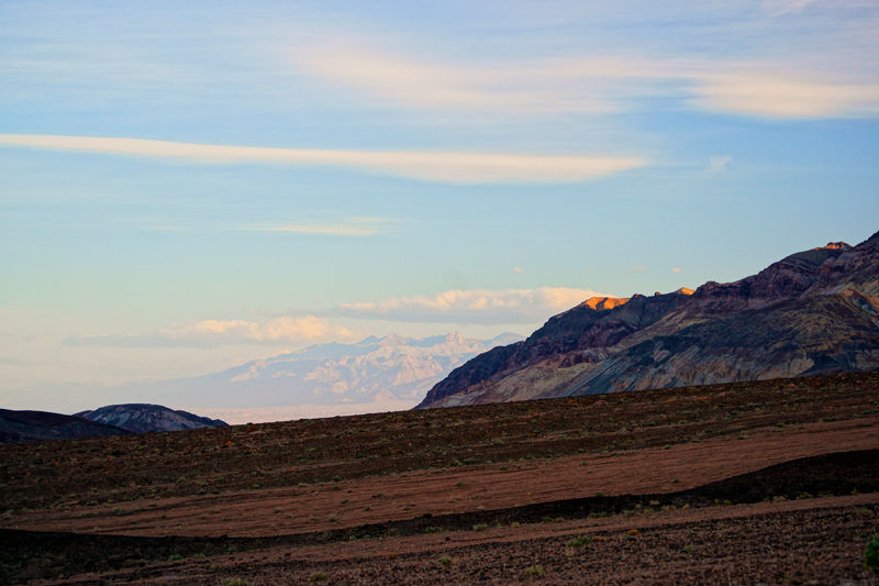 Early Morning - Artist's Drive - Death Valley, CA