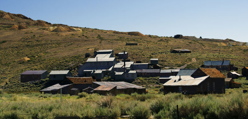 Bodie, California (Ghost Town Mining Camp)