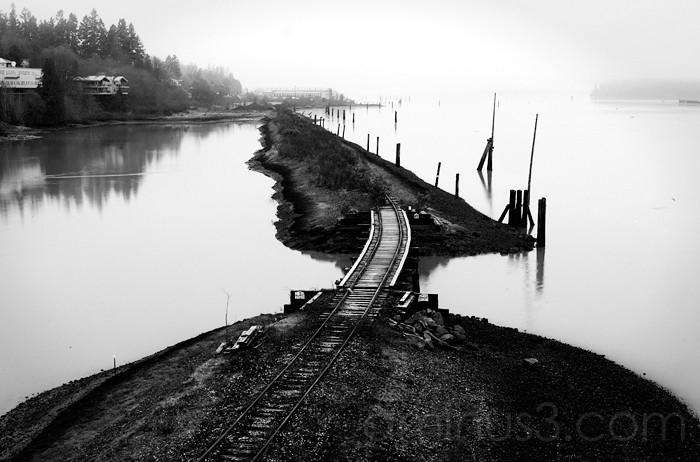 Decrepited Train Tracks