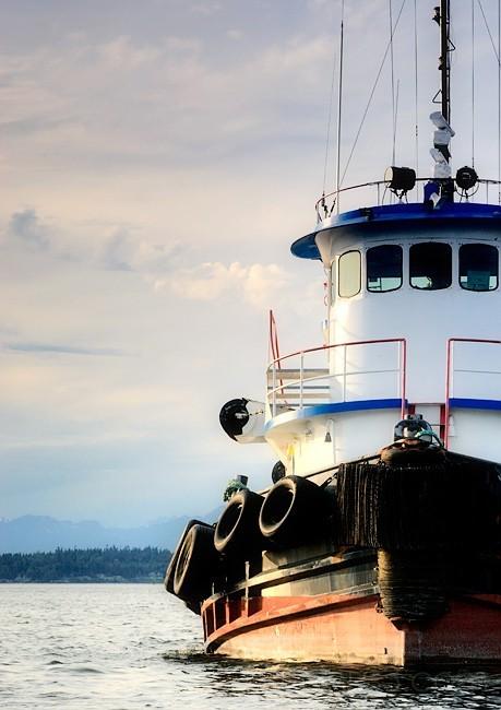Tug Boat @ Sunset