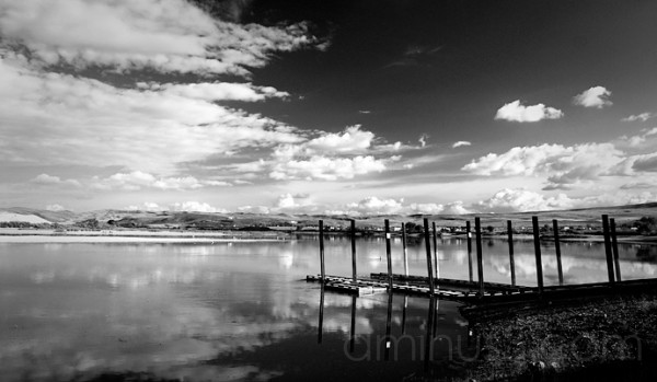 Pier at Farewell Bend Idaho
