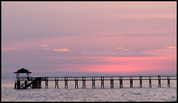 Jetty at Sunset, Tioman, Malaysia