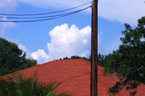 Sky over S Lois Ave