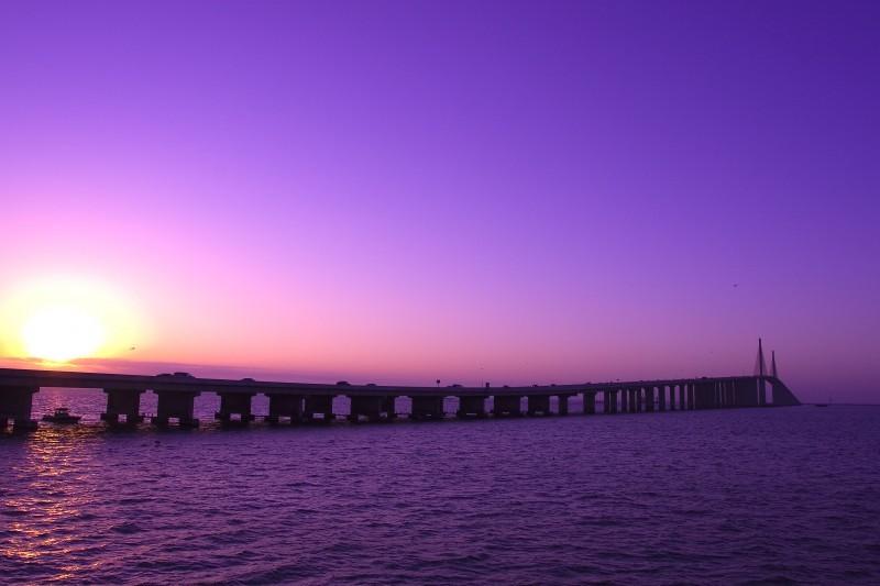 Sunshine Skyway Sunrise
