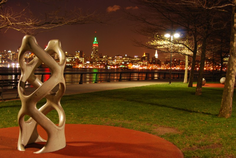 Scultpure at Pier A, Hoboken NJ