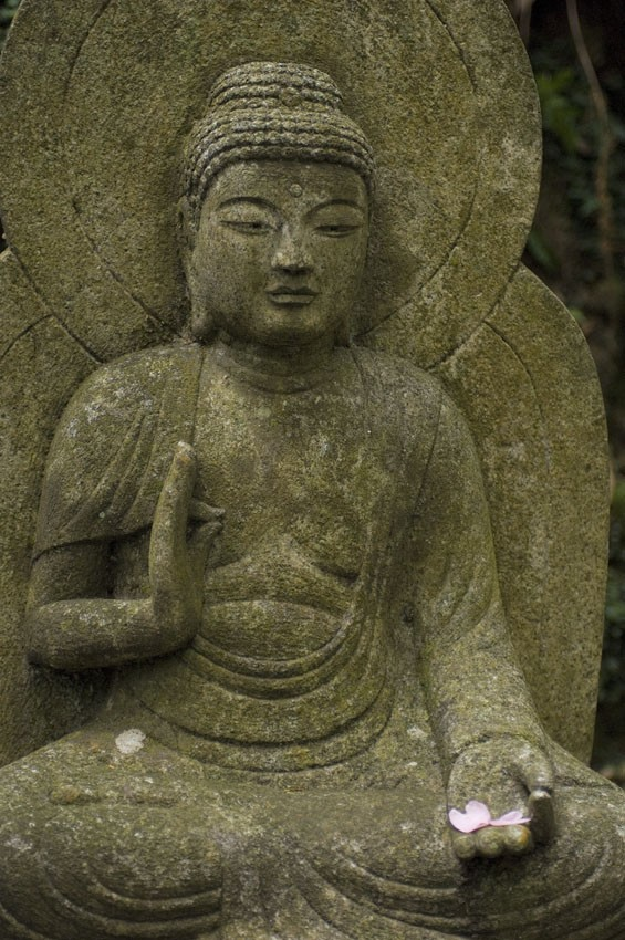 Buddha image at Mitaki Temple.