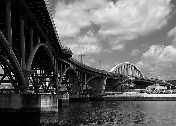 A bridge in Ujina.