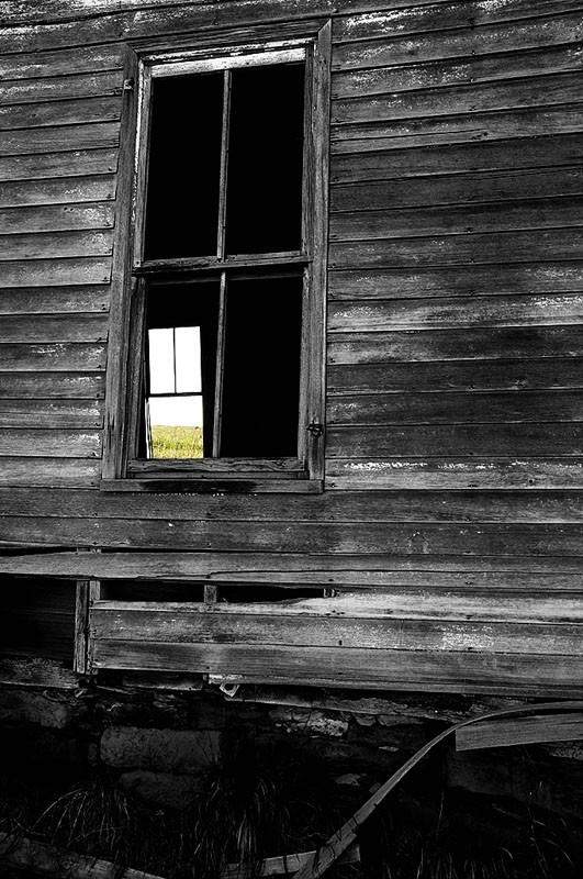 An old farm house in Iowa.