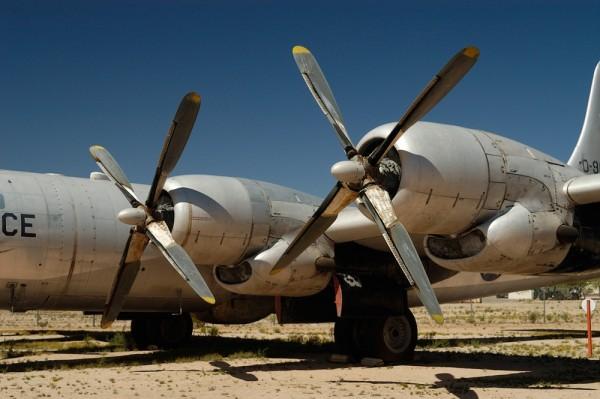 WW II bomber.