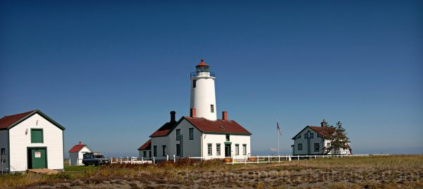 The New Dungeness Light Station.