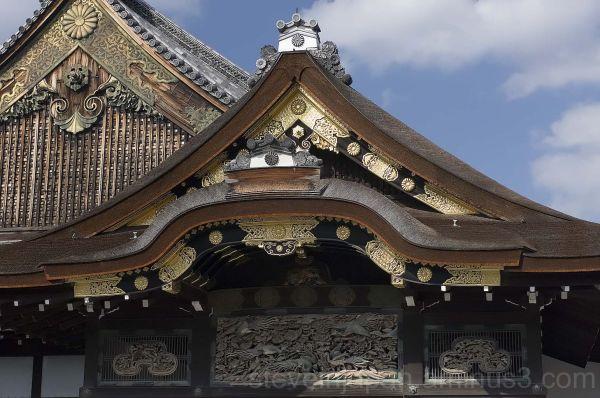 Nijo Castle in Kyoto, Japan.