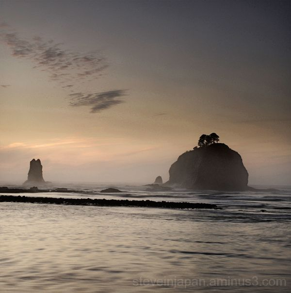 Monoliths at La Push.