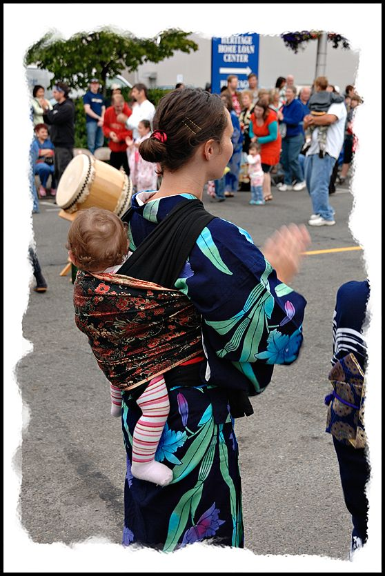 The youngest dancer at Olmypia's Bon Odori.