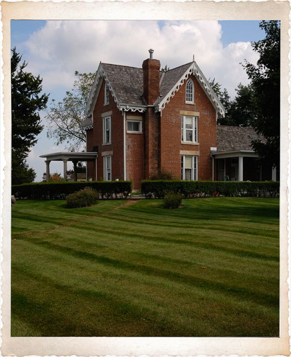 The Bevington-Kaser house in Winterset, IA.
