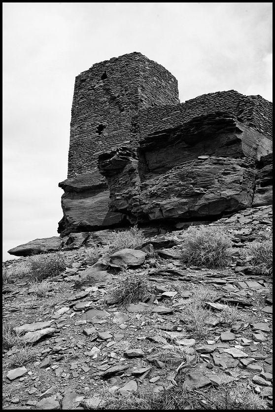 Wukoki Pueblo at Wupatki National Monument.