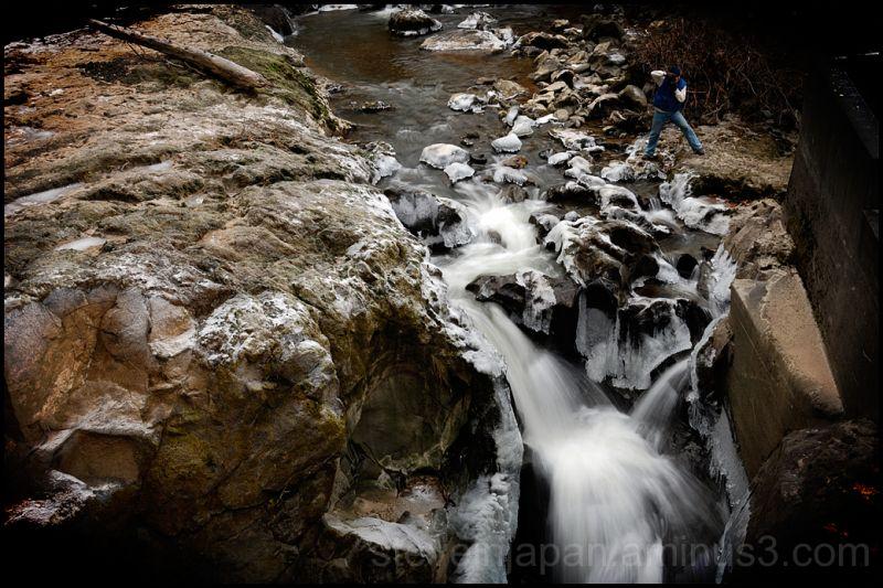 A photographe near Tumwater Falls in Tumwater, WA.