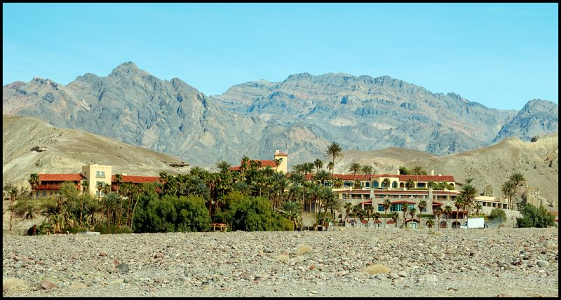 Furnace Creek Inn in Death Valley.
