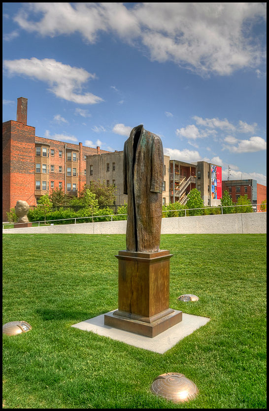 The Pappajohn Sculpture Park in Des Moines, IA.