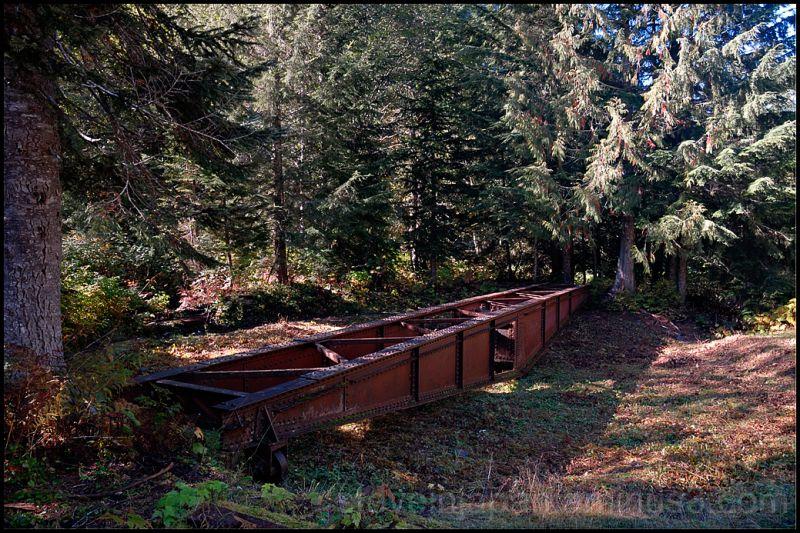 The 1893 railway turntable at Mote Cristo.