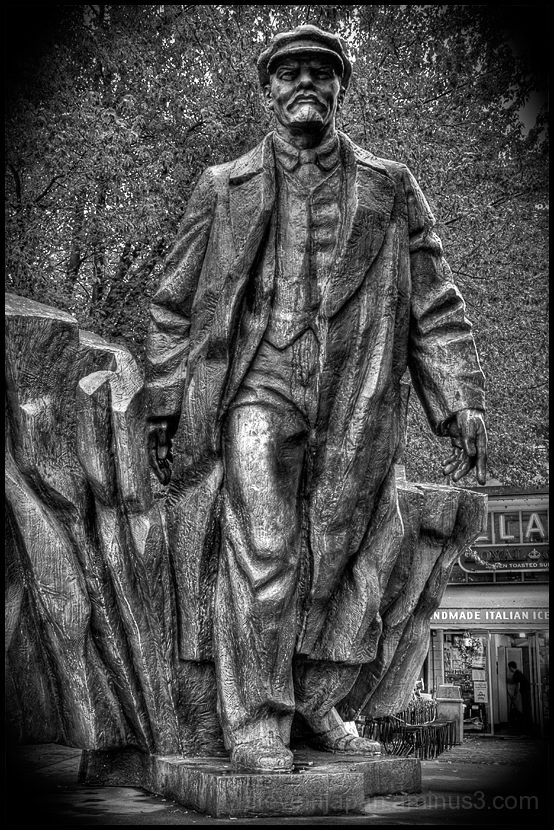 Lenin statue in the Fremont district of Seattle.