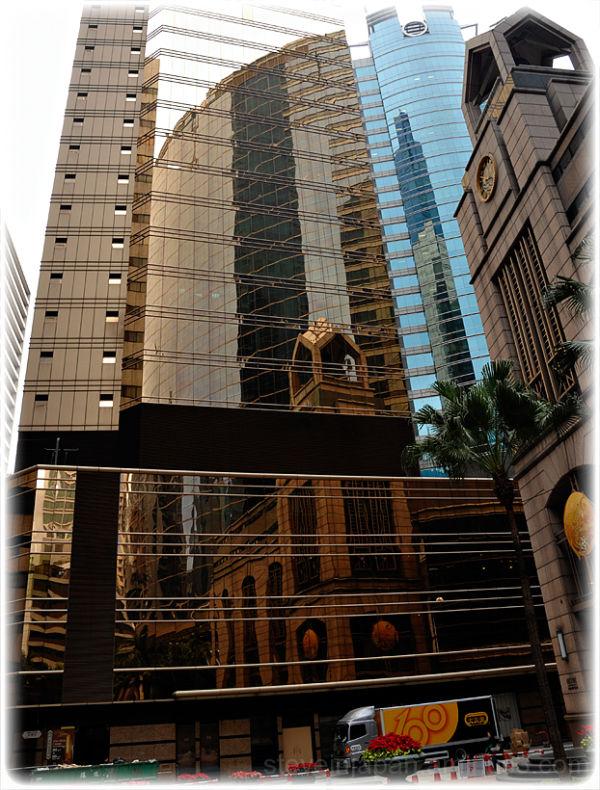 Reflections in Central, Hong Kong.