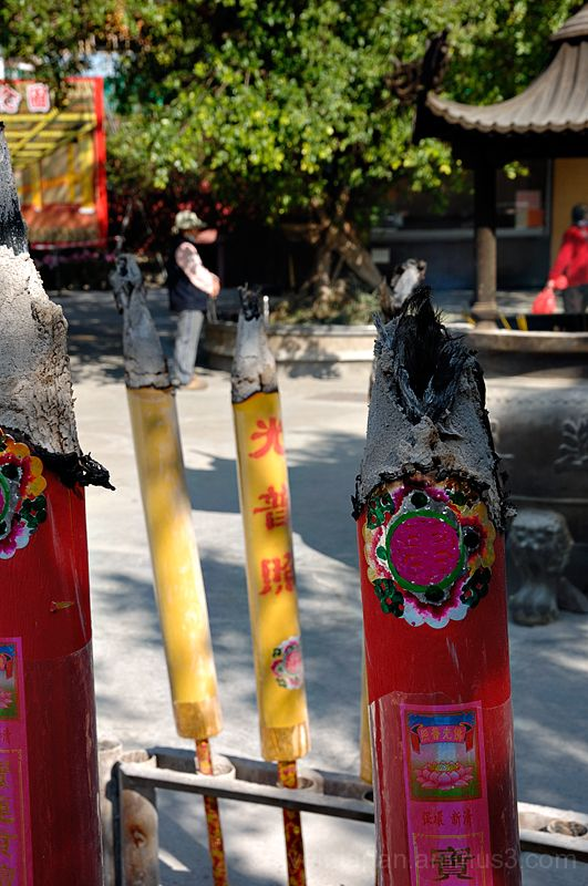 Incense sticks at Po Lin Monastery.