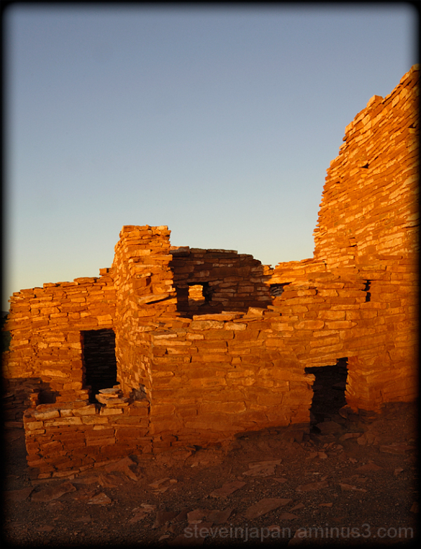 Lomaki Pueblo at Wupatki National Monument.
