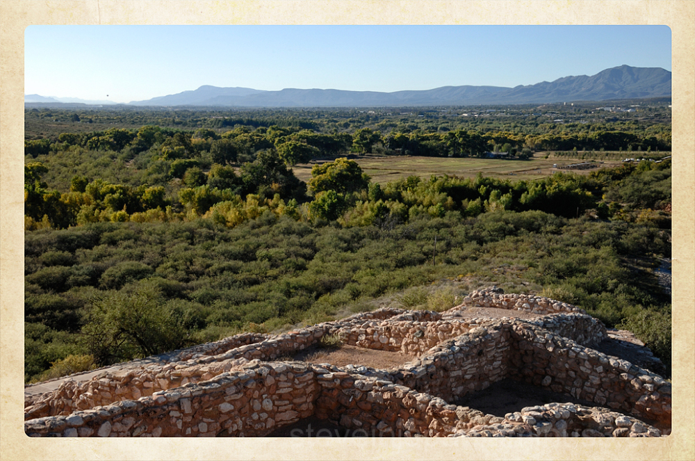 The Verde Valley from Tuzigoot NM.