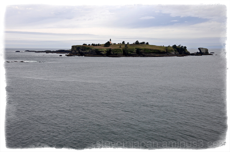 Tatoosh Island just off Cape Flattery.