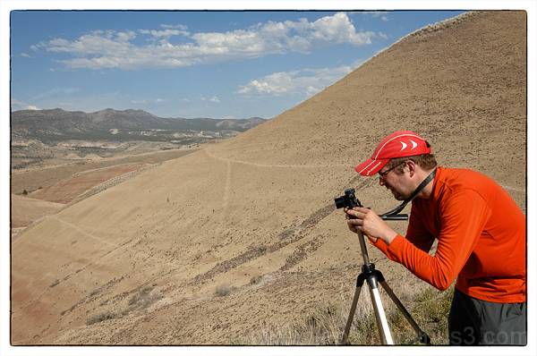 The Painted Hills of Oregon near Mitchell, OR.