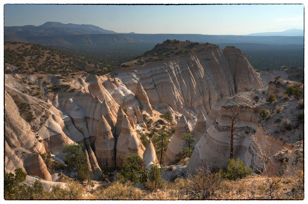 The mesa top at Tent Rocks NM.