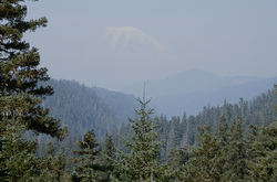 Mt. Rainier from US Highway 12