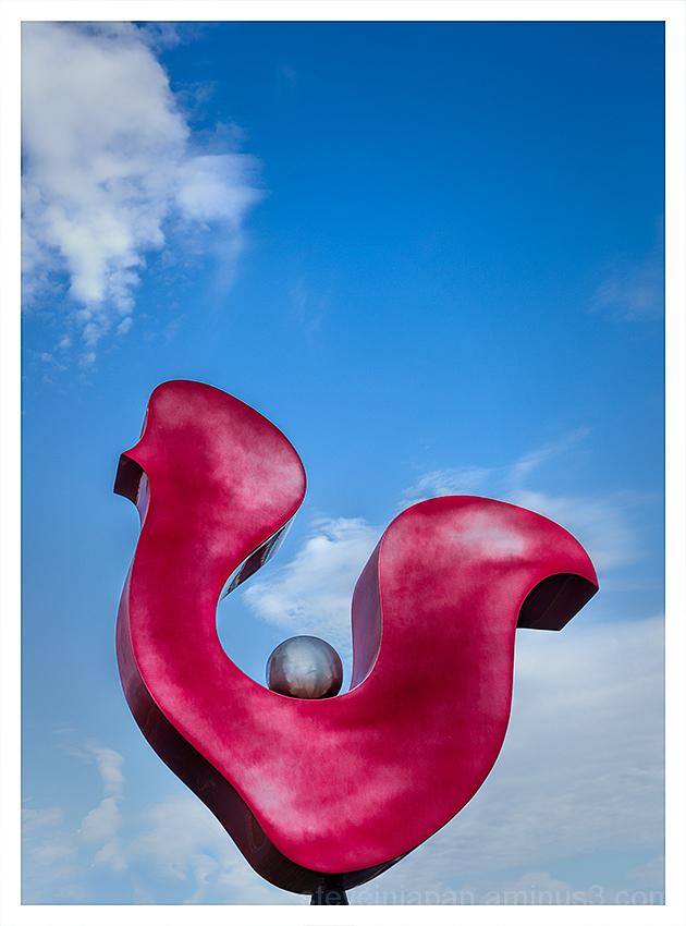 An interesting sculpture in West Sedona, AZ.