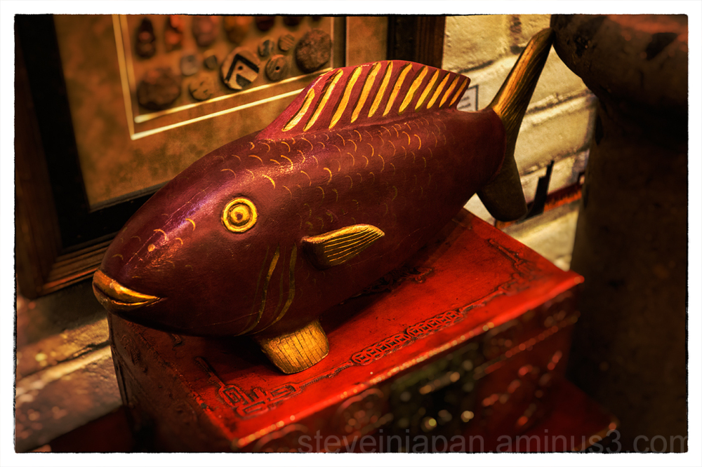 A fish at a tourist trap in Sedona.